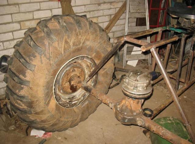 Каракат из мотоцикла своими руками