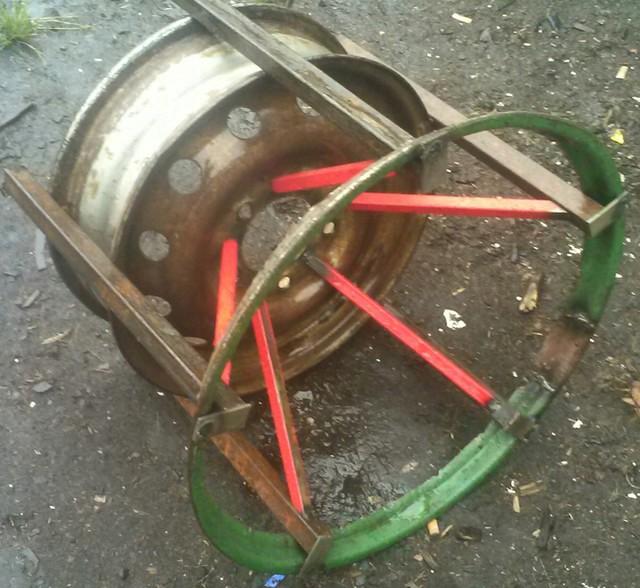 Как сделать колеса на каракат своими руками