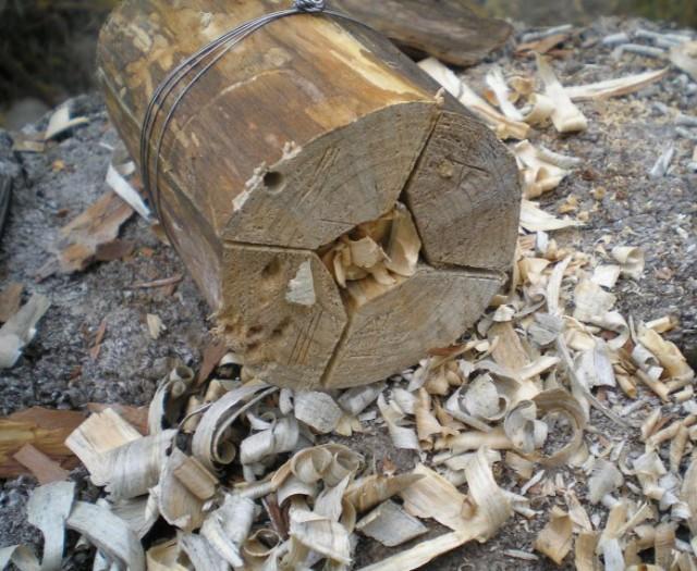 Фото-отчет изготовление деревянного примуса