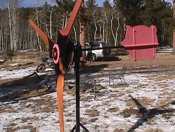 Фото отчет о изготовлении ветрогенераторов
