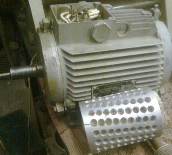 Генератор из асинхронного двигателя, перемотка статора и переделка ротора под магниты