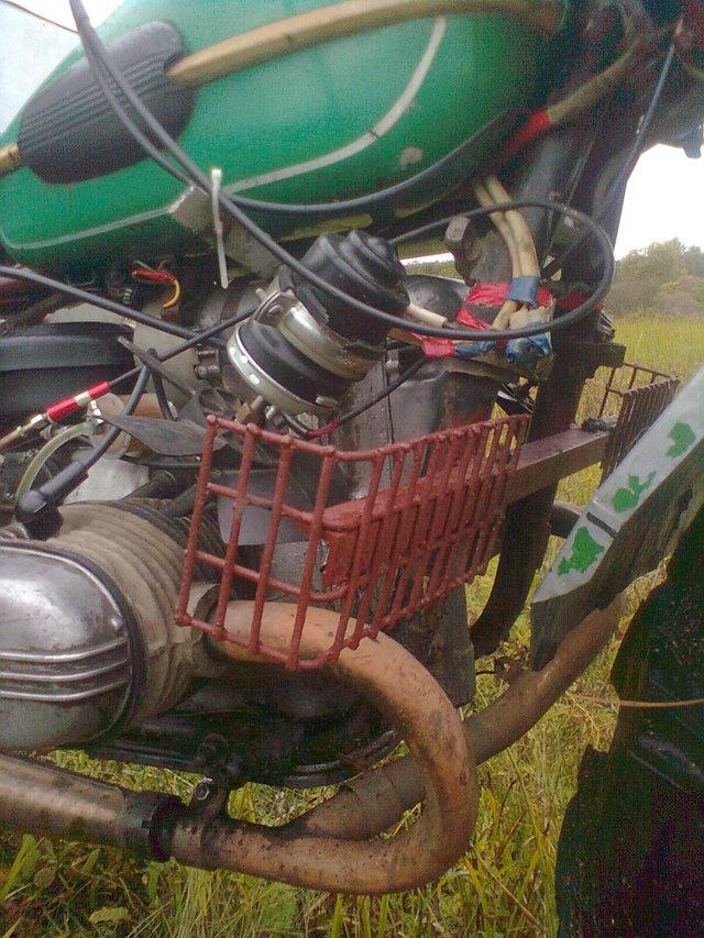 Каракат из мотоцикла урал