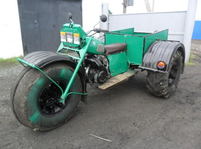 Каракат с мотором от инвалидки