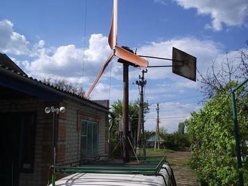 Лопасти ветрогенератора, балансировка и настройка