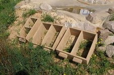 Мазанка каркаска жилище для отшельника