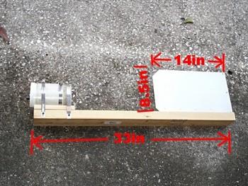 Мини ветротурбина на основе низковольтного мотора постоянного тока