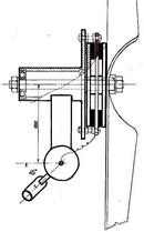 Небольшой аксиальный генератор для ветряка