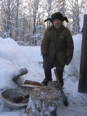 Отшельник Николай Швырков
