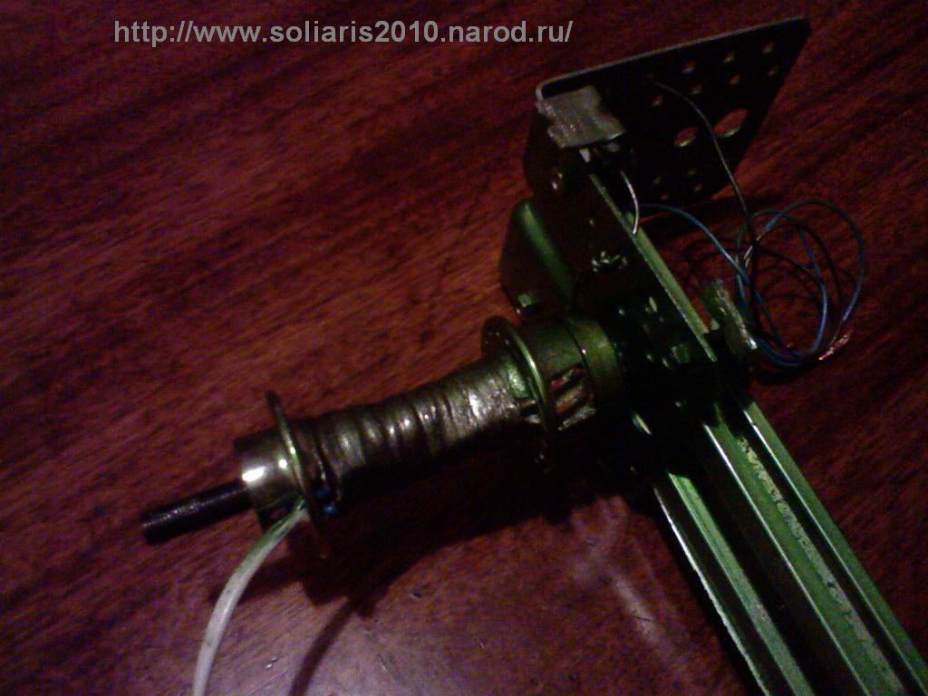 Походный ветрогенератор - первое испытание