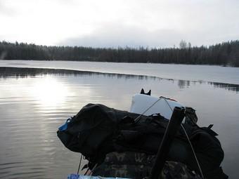 Рассказ о попытке отшельничества, жизнь на реке