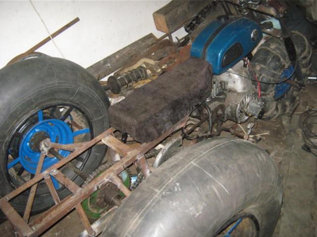 Самодельный каракат с двигателем Т200