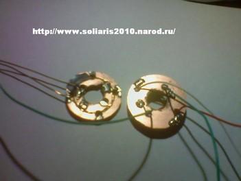 Щеточный узел поворотной оси ветрогенератора - продолжение
