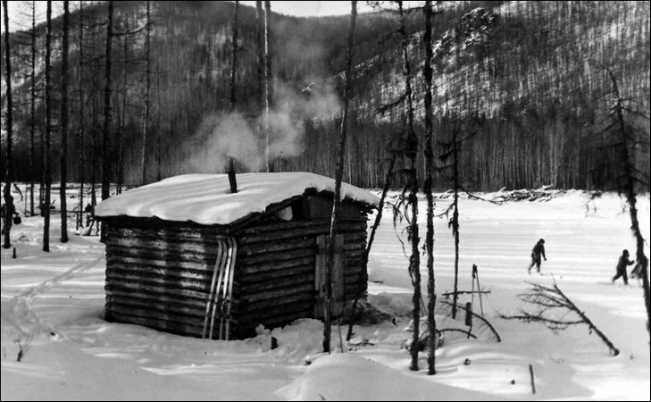 Таёжные зимовья фото
