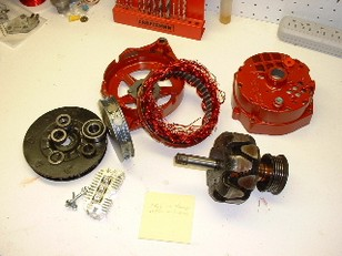 Ветрогенератор на лентопротяжном двигателе мощностью до 40 ватт