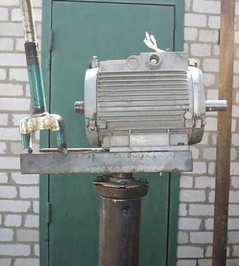 Ветрогенератор на основе асинхронного двигателя, переделанного на постоянные магниты