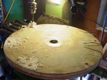 Заливка статора генератора, изготовление формы