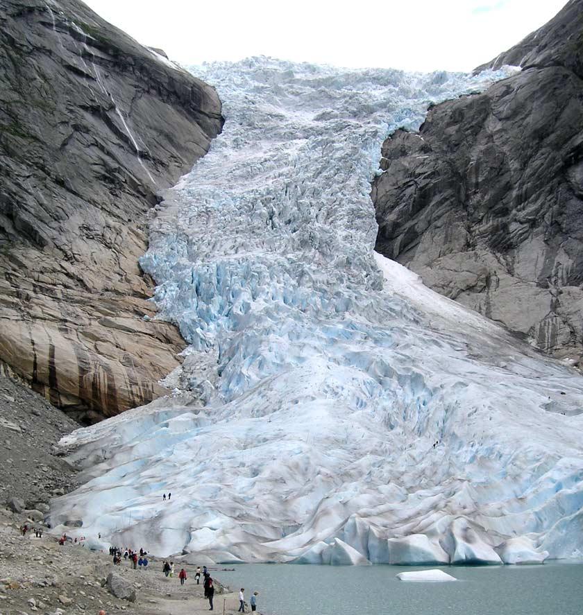 Ледники в Норвегии